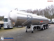 semi reboque Magyar Chemical tank inox 31 m3 / 1 comp