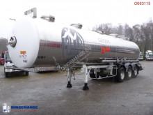 Maisonneuve chemical tanker semi-trailer Chemical tank inox 31.5 m3 / 1 comp
