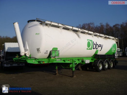 Powder tank alu 59 m3 (tipping) semi-trailer used tanker