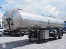 Magyar ETA - 25.000 Liter - Iso -Reini. 2 Kammern semi-trailer used food tanker