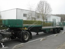 Trailor heavy equipment transport semi-trailer
