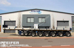 Semi remorque plateau Nooteboom OVB 95-07 69t Load Capacity, Available For Rent.