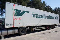 Van Hool BPW - CLOSED BOX / CAISSE FERMEE - DRUM BRAKES / TAMBOURS - GOOD CHASSIS semi-trailer