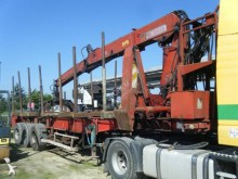 Used timber semi-trailer LAG SR 332 M
