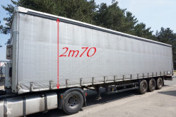 Semi remorque rideaux coulissants (plsc) Schmitz Cargobull S3ZED - DISC BRAKES - ANTI THEFT CURTAINS - 2m70 INSIDE HEIGHT - NICE CONDITION