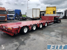 ES-GE 2x 4ass semi dieplader, 5mtr uitschuifbaar - 285 semi-trailer used heavy equipment transport