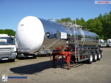 Food tanker semi-trailer Food tank inox 30 m3 / 1 comp + pump