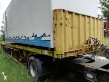 Fruehauf SUSPENSION LAMES - FREINS TAMBOURS semi-trailer used flatbed