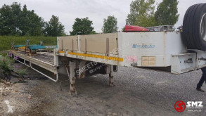Semi remorque porte engins Nicolas Oplegger tram/train transport 18 M extendable NEW/