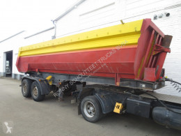 Kögel tipper semi-trailer SKHL 18 SKHL 18 Alu Rundmulde, 24 cbm, Blechboden
