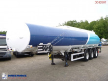 Semiremorca Caldal Heavy oil tank alu 37.7 m3 / 1 comp + pump cisternă second-hand