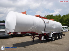Semi remorque Fruehauf Bitumen tank steel 31 m3 / 1 comp citerne occasion