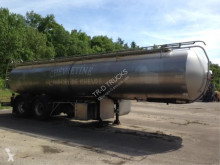 ETA AVEC CITERNE EN INOX 25000L- 3 COMPARTIMENTS very clean semi-trailer used food tanker