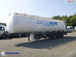 LAG tanker semi-trailer Powder tank alu 58.5 m3 / 1 comp + compressor