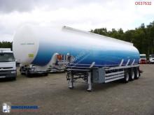 semi remorque Feldbinder Fuel tank alu 42 m3 / 6 comp + pump