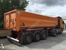Schmidt semi-trailer used construction dump