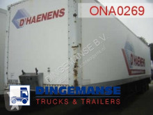 Fruehauf closed box trailer 81.2 m3 semi-trailer used