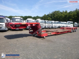 Nooteboom lowbed trailer OSDAZ-56 semi-trailer used heavy equipment transport