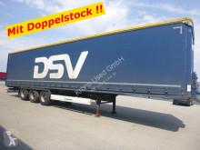 Semirremolque Krone SDP Schiebeplanen Sattelauflieger 27 eLB4-DS D lona corredera (tautliner) usado