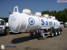 Trailer Magyar Chemical ACID tank inox 24.5 m3 / 1 comp tweedehands tank chemicaliën