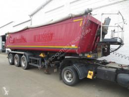 Félpótkocsi Schmitz Cargobull SKI 27 27 8.2, Alumulde, ca. 27 cbm, Liftachse használt billenőkocsi