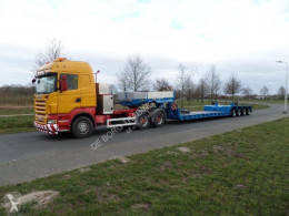 Полуремарке Goldhofer STZ-VL4-43/80A Low Loader превоз на строителна техника втора употреба