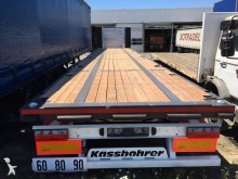 Semitrailer platta Kässbohrer PLATEAU RENFORCE DISPO IMMEDIATEMENT