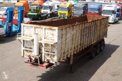 Semi remorque benne Stas Kipper 50m3 3-assig steel box