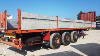 Flatbed semi-trailer Full steel suspension