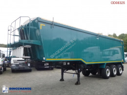 Weightlifter Tipper trailer alu 50 m3 + tarpaulin semi-trailer used tipper