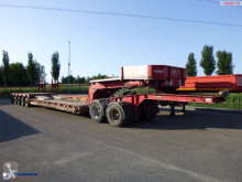 Nooteboom 5-axle lowbed trailer + dolly / 8.5 m / 110 t semi-trailer used flatbed