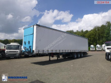 Náves Kaiser Curtain side trailer 92 m3 / lift axle plachtový náves ojazdený