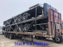 MOL stack: 5 x plateau semi-trailer used flatbed