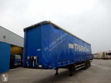 Semi remorque Tirsan Curtain sider / Joloda floor / SAF DISC / Lift axle rideaux coulissants (plsc) occasion