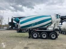 Nc powder tanker semi-trailer EUROMIX MTP 12m³ Betonmischer