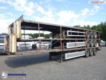 Semirimorchio SDC Stack - 3 x platform trailer cassone usato