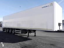Lecitrailer box semi-trailer fourgon