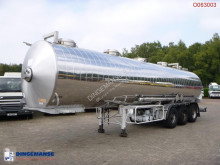 Maisonneuve Chemical tank inox 32.5 m3 / 1 comp semi-trailer used chemical tanker