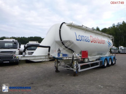 Feldbinder tanker semi-trailer Powder tank alu 43 m3 / 1 comp