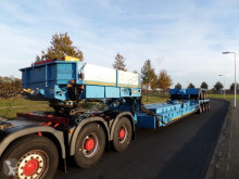 Nooteboom EURO-91-24 / 2+4 Tankbed Low Loader semi-trailer used heavy equipment transport