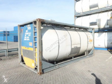 Van Hool chemical tanker semi-trailer 23.000L, 20FT Tankcontainer, L4CH, UN Port. T14