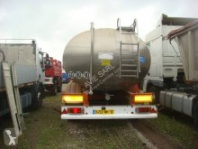 Magyar food tanker semi-trailer CITERNE INOX ALIMENTAIRE 3 ESSIEUX 28000L 4 COMP S/LAMES