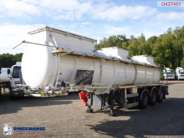 Semi reboque cisterna productos químicos Chemical ACID tank inox 22.5 m3 / 1 comp