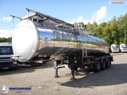 Semi remorque General Trailers Food tank inox 23.5 m3 / 1 comp + pump citerne alimentaire occasion