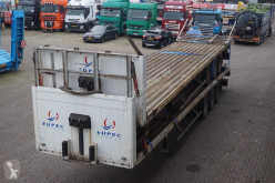 Samro flatbed semi-trailer Open 3-assig