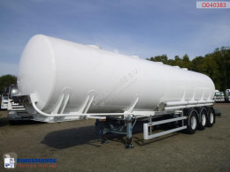 LAG Fuel tank Alu 41.3 m3 / 5 Comp semi-trailer used tanker