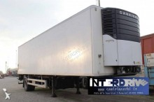 Chereau semirimorchio 10m monoasse sponda usato semi-trailer used mono temperature refrigerated