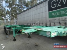 Samro semi-trailer used container