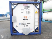 nc 2012, 20FT tankcontainer, 25.000L, L4BH, T12, valid 5Y insp. 11/2020, internal coating