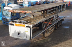 Trailer M&G Open 3-assig/13.6m tweedehands platte bak
